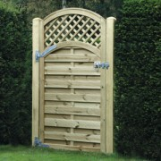 Arched Lattice Top Gate<br>180cm x 90cm